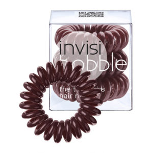 invisibobble brown hair ring
