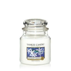 Yankee Candle Midnight Jasmine Medium Jar Candle