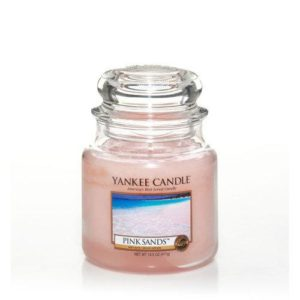 Yankee Candle Pink Sands Medium Jar Candle