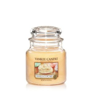 Yankee Candle Vanilla Cupcake Medium Jar Candle