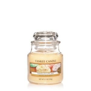 Yankee Candle Vanilla Cupcake Small Jar Candle